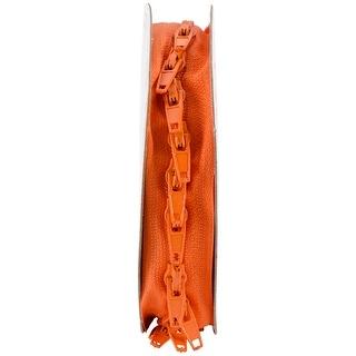 Make-A-Zipper Kit 5-1/2yd-Orange - Orange