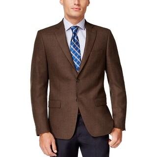 Ralph Lauren Classic Brown Soft Tailored Wool Sportcoat Blazer 40 Regular 40R