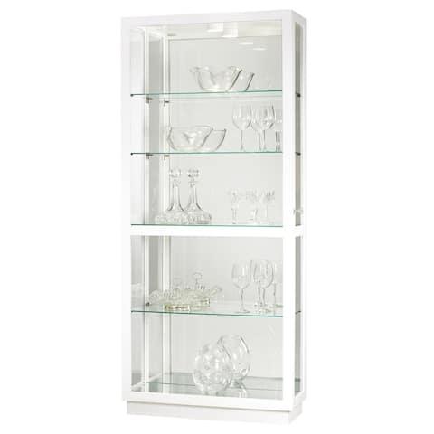Howard Miller Jayden IV Solid Wood 4-shelf Curio Cabinet
