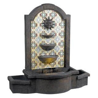 "Kenroy Home 50721 Cascada 45.25"" High Outdoor Floor Fountain"