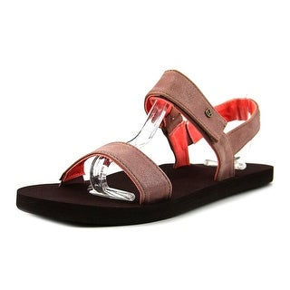 Reef Cushion Tide Break Women  Open-Toe Synthetic Pink Sport Sandal