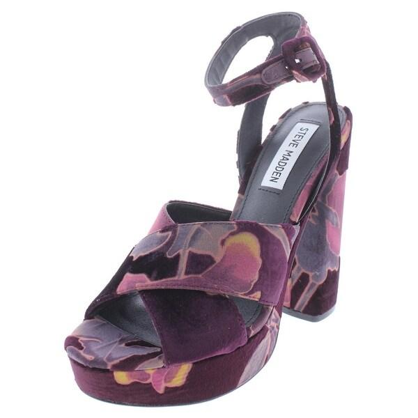 cfce6feb242 Shop Steve Madden Womens Jodi Platform Sandals Suede - Free Shipping ...