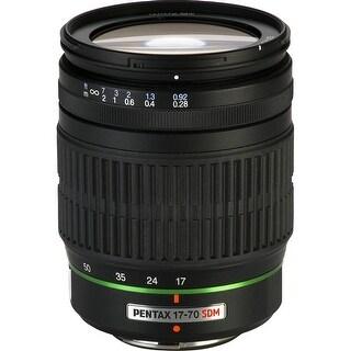 Pentax SMCP-DA 17-70mm f/4 AL (IF) SDM Autofocus Lens for Digital SLR - Black