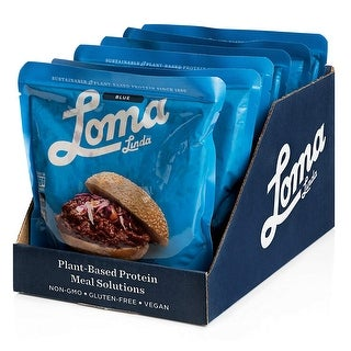 Loma Linda Blue Vegan Meal Solution Sloppy Joe 10 Oz Pack Of 6