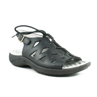 New David Tate Womens Dallas-001 Black Sandals Size 4