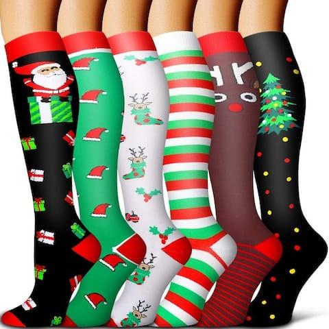 ETCBUYS Copper Compression Socks Women & Men - Best for Travel