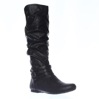 Fergalicious Lyla Slouch Boots - Black
