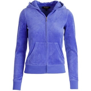 Juicy Couture Black Label Womens Choose Velour Slim Fit Original Jacket