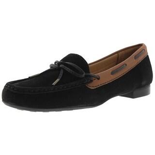 Sebago Womens Leden Tie Loafers Nubuck Slip On