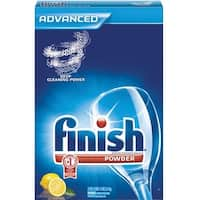 Finish 5170078234 Powder Dishwasher Detergent, Lemon Scent, 75 Oz
