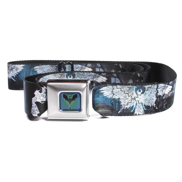 Disney Villians Maleficent Dragon Full Color Seatbelt Belt