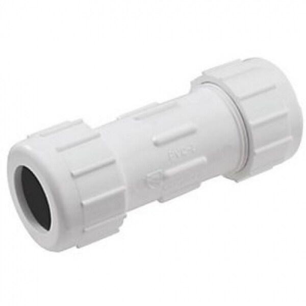 Homewerks 511-43-34-34B PVC Compression Repair Coupling, 3/4