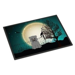 Carolines Treasures BB2249JMAT Halloween Scary Glen of Imal Grey Indoor or Outdoor Mat 24 x 0.25 x 36 in.