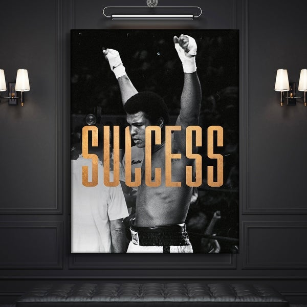 IKONICK Muhammad Ali - Success Canvas Art