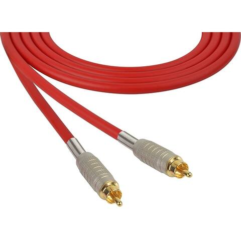 Sescom MSC100RR Audio Cable Mogami Neglex Quad RCA Male to Male