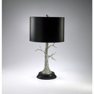 """Cyan Design 2097 30.5"""" Silver Tree Lamp from the Lighting Collection"""