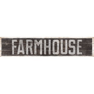 """American Woodcrafters Pine Pallet 36""""X7.5"""" Decor Sign-Farmhouse"""