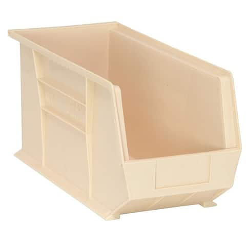 Offex Ultra Ivory Stack and Hang Bin - 6 Pack
