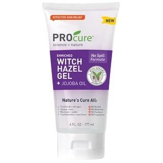 PPR PROcure Witch Hazel Gel - Jojoba Oil Formula Cleans, Soothes, Tones and Moisturizes Skin - 6 Fluid Ounce Tube