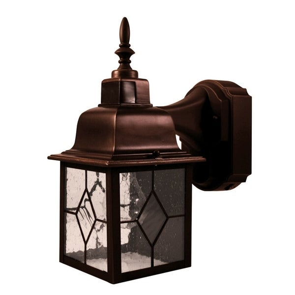 Shop Heath Zenith Hz 4167 1 Light 11 15 32 High Outdoor Wall Sconce