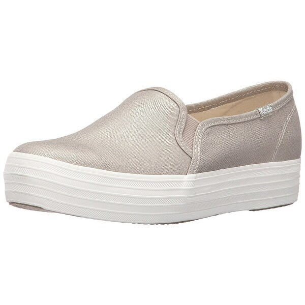 Keds Womens TRIPLE DECKER Low Top Slip On Fashion Sneakers