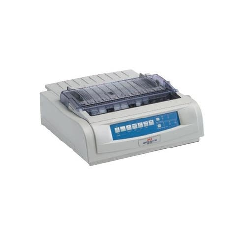 Okidata 62418703 ml420n - monochrome - dot-matrix - network - 9-pin printerhead - 570 cps - White