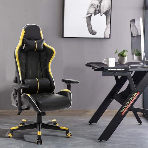 Yellow Ergonomic Gaming Chair