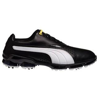 Puma Men's Titan Tour Black/White Golf Shoes188056-01