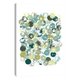 """PTM Images 9-108493  PTM Canvas Collection 10"""" x 8"""" - """"Imprint 3"""" Giclee Abstract Art Print on Canvas"""