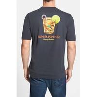 Tommy Bahama Rum Pa Pum Pum Small Coal T-Shirt