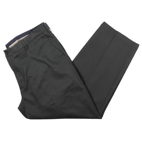 Dockers Mens Dress Pants Office Wear Relaxed Fit - Dark Gray - 40/30