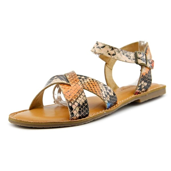 Rock & Candy Brionna Open-Toe Synthetic Slingback Sandal