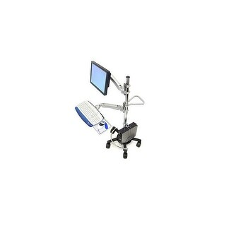Ergotron - Ergotron Mobile Workstand.This Sit-Stand Mobile Computer Cart Is A Modular Syste