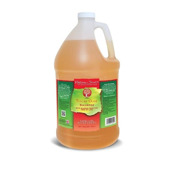 Bio-Groom Natural Scents Tuscan Olive Shampoo Gallon