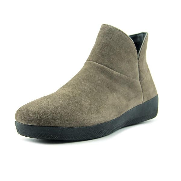 60964de2a24 Shop FitFlop Supermod Leather Ankle Boots Round Toe Suede Boot ...