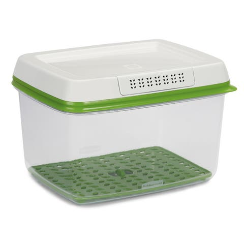 Rubbermaid 1920479 FreshWorks Plastic 17.3 Cup Food Storage Container - - Clear