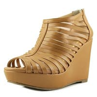Thalia Sodi Womens Millo Fabric Peep Toe Special Occasion Platform Sandals