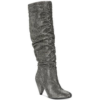 INC International Concepts Womens Gerii2 Almond Toe Knee High Fashion Boots