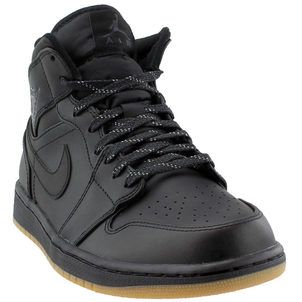 c1dfeceb820e Shop Jordan Mens 1 Mid Winterized Athletic   Sneakers - Free ...
