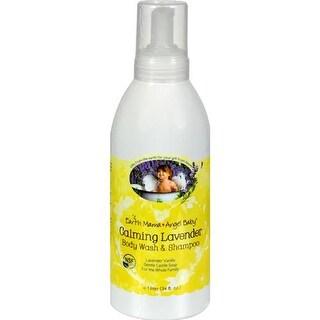 Earth Mama Angel Baby - Shampoo And Body Wash - Organic Lavender ( 1 - 34 FZ)