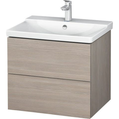 """Duravit LC6244 L-Cube 24-3/8"""" Wood Vanity Cabinet Only"""