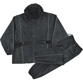 Womens Waterproof Rain Suit Reflective Piping / Heat Guard (More options available)
