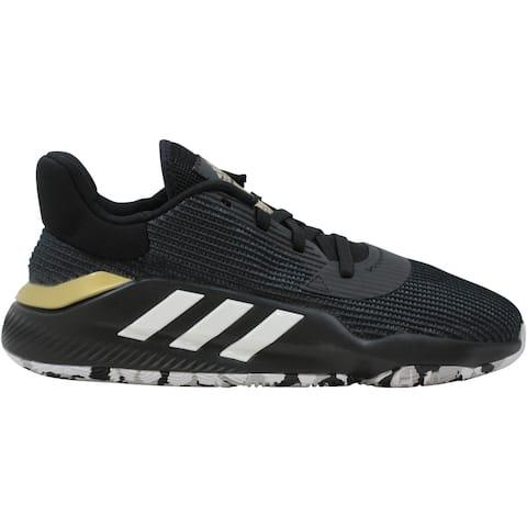 Adidas Pro Bounce 2019 Low Core Black/Footwear White-Gold Metallic EF0469 Men's