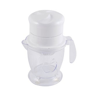 Fruits Plastic Citrus Press Squeezer Manual Extracting Juicer Tool White Clear