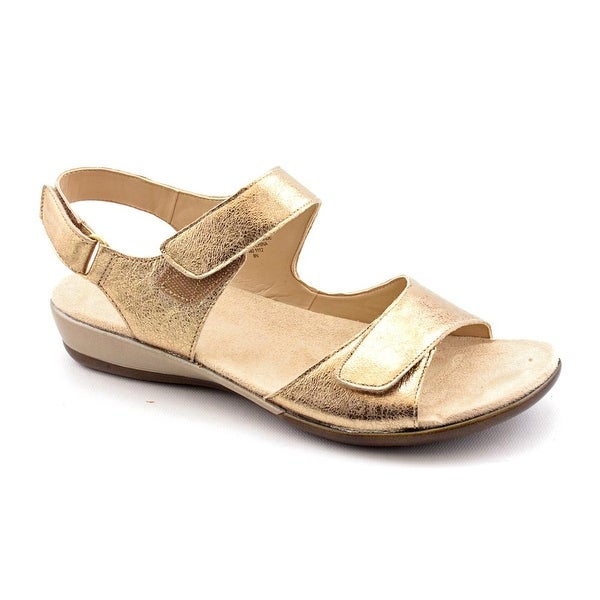 Easy Spirit Hartwell Womens Gold Sandals