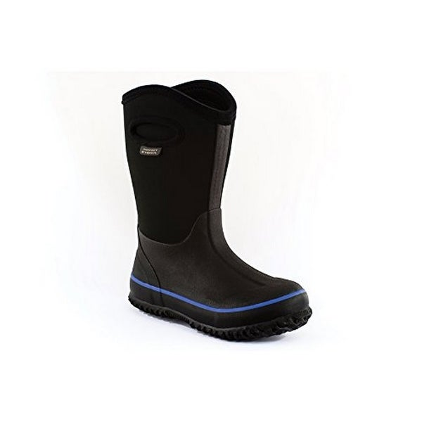 Perfect Storm Kids Cloud High Black/Blue Boot, Black/Blue, 6