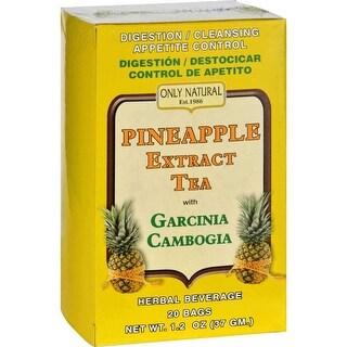 Only Natural Tea Pineapple Extract Garcinia Cambogia - 20 Bag