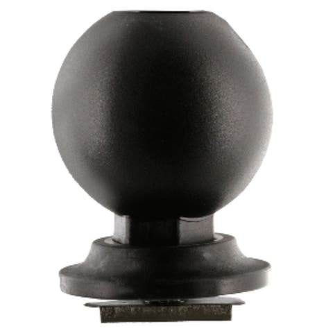 """6"""" Black 168 Ball with Low Profile Track Mount"""