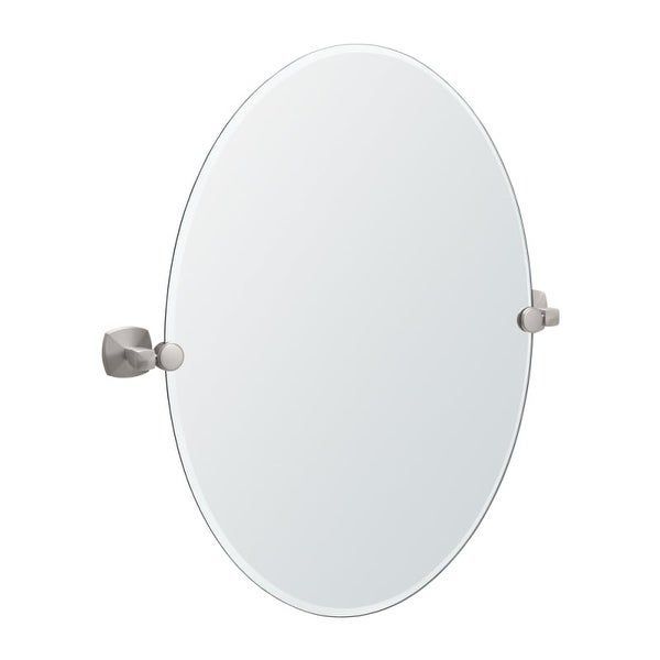 Gatco GC4159 Oval Mirror from the Jewel Series - N/A