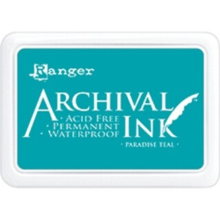 Paradise Teal - Archival Ink Pad #0